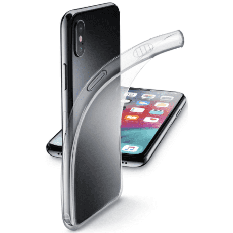 CellularLine Fine pouzdro pro Apple iPhone Xs Max, transparentní