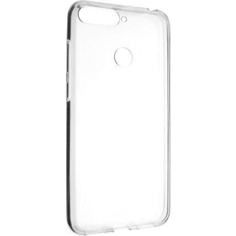 Fixed TPU gelové pouzdro pro Huawei Y6 Prime 2018, transparentní