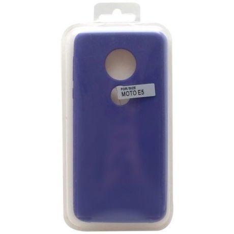 Mobilnet silikonové pouzdro pro Motorola Moto E5, fialová