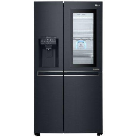 LG GSX960MTAZ, černá americká chladnička