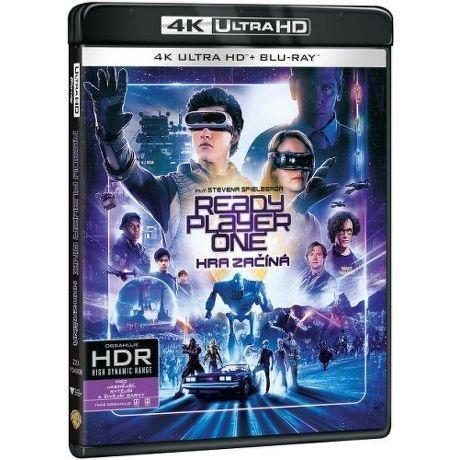 Ready Player One: Hra začíná - Blu-ray + 4K UHD film