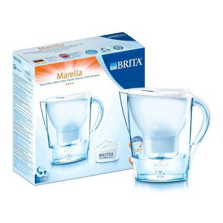 BRITA Marella Cool Calendar, vodný filter - kanvica BIELA