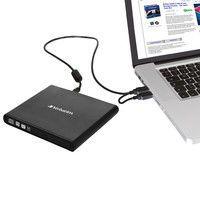 VERBATIM VE1122 DVD/CD Externá mechanika USB 2.0