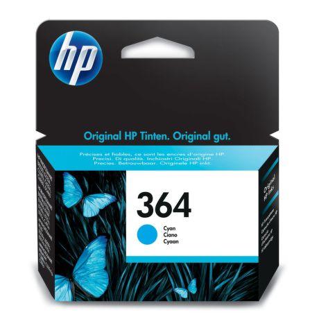 HP CB318EE No.364 cyan - atrament