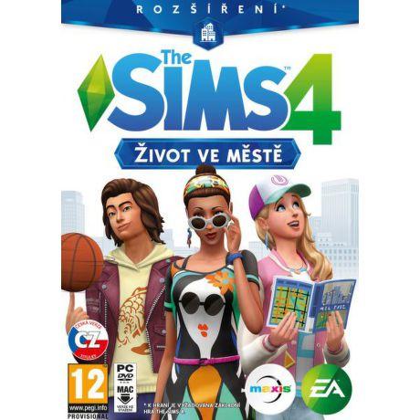 EA Games SIMS 4: život ve městě, PC hra
