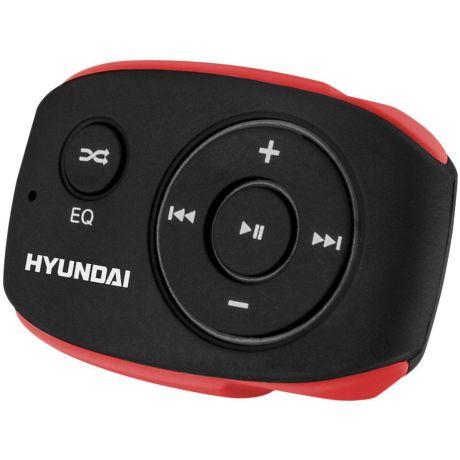 Hyundai MP 312 8GB - MP3 přehrávač (černo-červený)