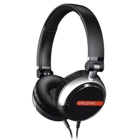 Creative Flex Sluchátka s mikrofonem (černé)