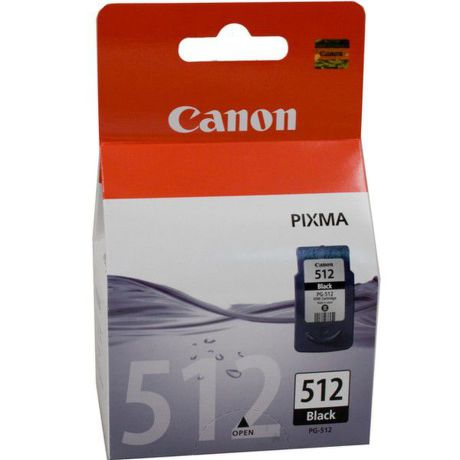 CANON PG-512, Black Ink Cartridge, BL SEC