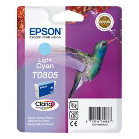 EPSON T08054021 LIGHT CYAN cartridge Blister