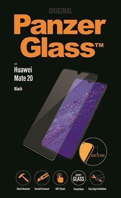Panzerglass tvrzené sklo pro Huawei Mate 20, černá