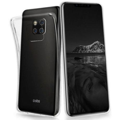 SBS Skinny pouzdro pro Huawei Mate 20 Pro, transparentní