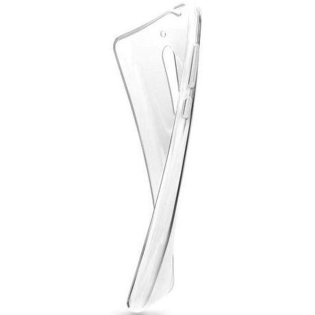 Fixed TPU gelové pouzdro pro Samsung Galaxy A7 2018, transparentní