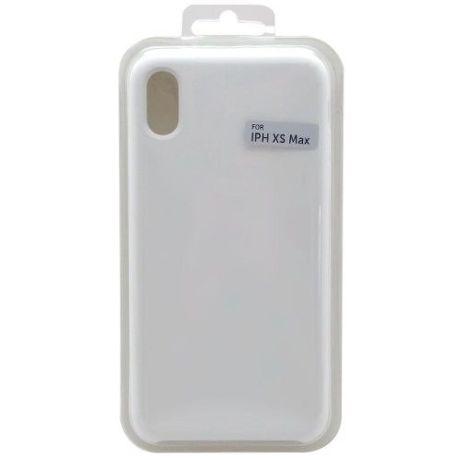 Mobilnet silikonové pouzdro pro Apple iPhone Xs Max, bílá