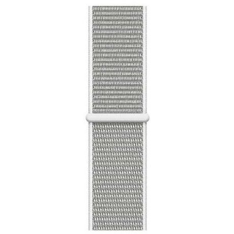 Apple Watch 44mm řemínek Sport Loop, bílá