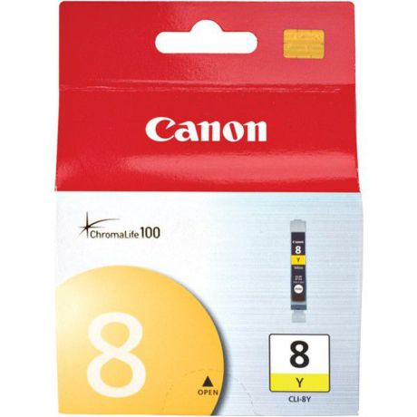 CANON CLI-8 Y, YELLOW Ink Cartridge, BL SEC