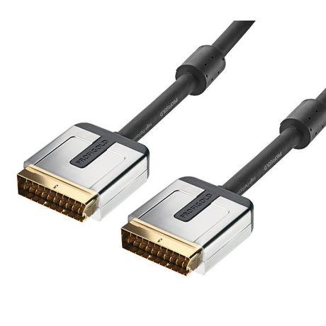 Profigold PROV7101 SCART kabel, 1m