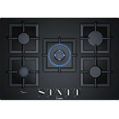 Bosch PPQ7A6B20 - černá plynová varná deska