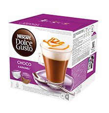 NESCAFE Choco Caramel, kapsulová káva