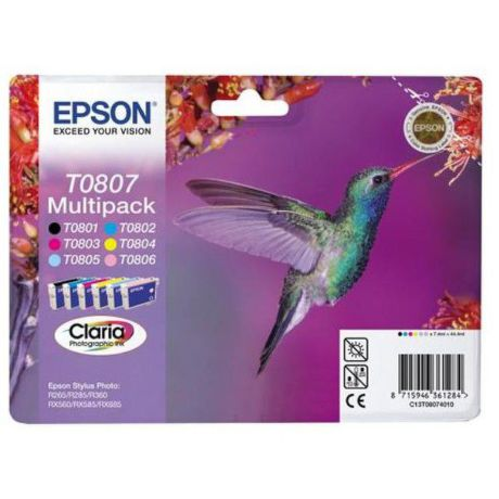 EPSON T08074021 MULTIPACK 6 color Blister