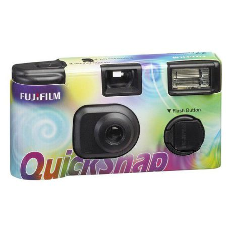FUJI QuickSnap FLASH 400/27, jednorázový