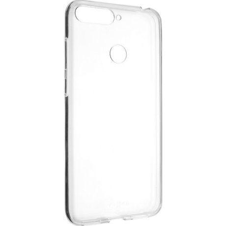 Fixed TPU gelové pouzdro pro Honor 7A, transparentní