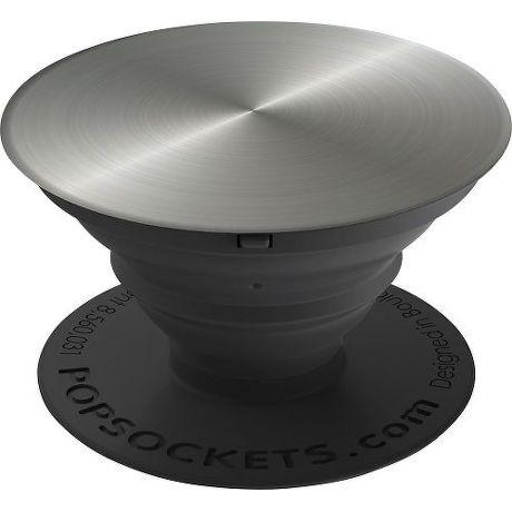 PopSockets držák na chytrý telefon, Faux Silver