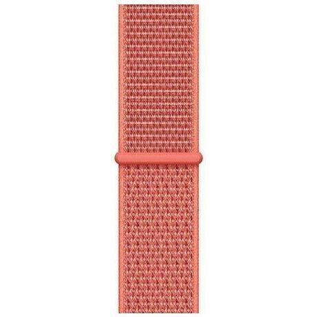 Apple Watch 44mm remienok Sport Loop, oranžová