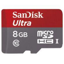 124070 SanDisk MICRO SDHC Ultra 8GB 48 MB/s UHS-I - paměťová karta