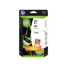 HP J3M81AE No.301 black + No.301 color - inkoust