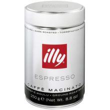 Illy Espresso Dark mletá káva (250g)