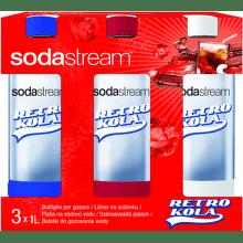 Sodastream Retro Kola Tripack náhradní láhve (1l/3ks)
