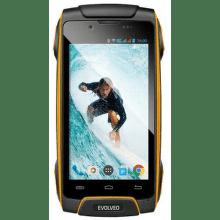 Evolveo StrongPhone Q8 LTE (žlutý)