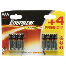 Energizer Ultra+ AAA (LR03), 4+4 ks
