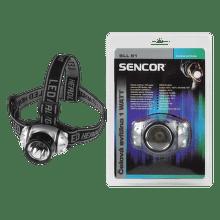 Sencor SLL 51 - Čelová svítilna 1 Watt 3xAAA
