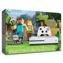 Microsoft Xbox One S 500GB + Minecraft Favorites
