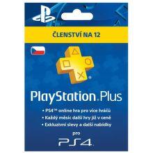 Sony PlayStation Plus Card 365 dní - předplatné pro PS3 a PS4