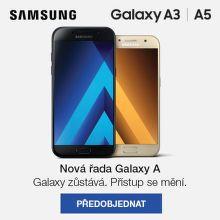 Předobjednejte si nový Samsung Galaxy A3 nebo A5 2017