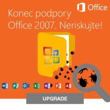 Konec podpory Office 2007. Neriskujte!