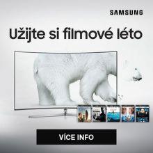 Užijte si filmové léto na televizorech Samsung
