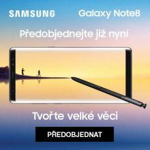 Dárek k předobjednávce Samsung Galaxy Note 8