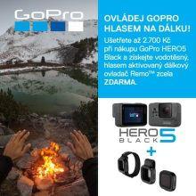 Dárek ke GoPro HERO5 Black v hodnotě 2 699 Kč