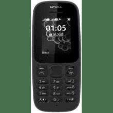 Nokia 105 2017 Dual SIM černý