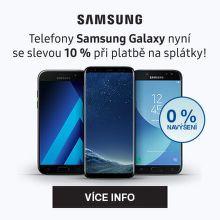Mobily Samsung Galaxy se slevou 10 % při platbě na splátky!