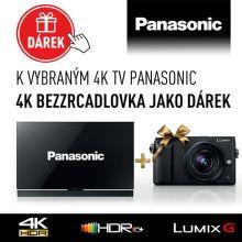 K vybraným 4K TV Panasonic 4K bezzrcadlovka jako dárek