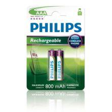 Philips MultiLife 800mAh AAA (HR03), 2ks