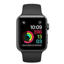 Apple Watch Series 2 42mm (vesmírně šedý hliník / černý sportovní řemínek)