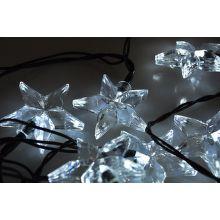 Solight 1V30-W - LED řetěz, hvězdy, 20xLED (bílé světlo), 3m
