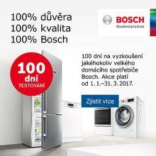 100 dní vrácení spotřebiče Bosch