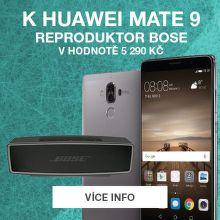 Bose reproduktor jako dárek k Huawei Mate