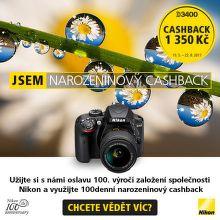 Narozeninový Cashback Nikon
